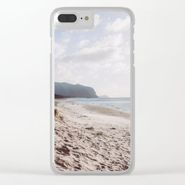 A morning in New Zealand Clear iPhone Case