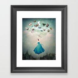 Leaving Wonderland Framed Art Print