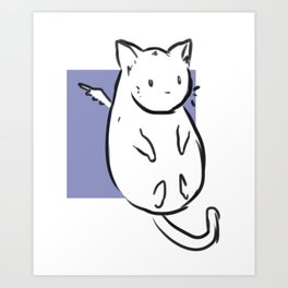 Mr. Chub Chub  Art Print