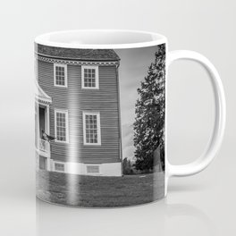 Ellwood Manor Black and White Coffee Mug