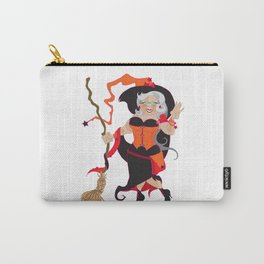 Granny Hex (Orange) Carry-All Pouch