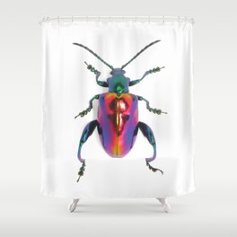 Lovely Lady Frog-legs Shower Curtain