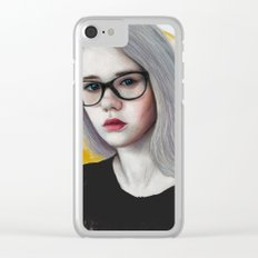 Anasteysha Clear iPhone Case
