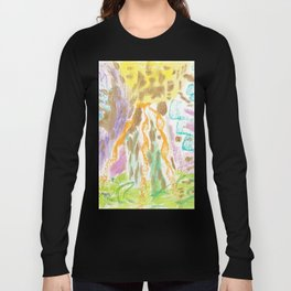 Abstract 8a Long Sleeve T-shirt
