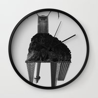 buffalo Wall Clocks featuring Buffalo by Panic Junkie
