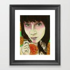 Shannon Tea Framed Art Print
