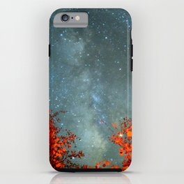 Fall Stars iPhone Case