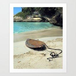 Anguilla, BWI Caribbean Art Print