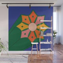 Summer Starburst Wall Mural