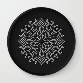 Mandala LIX Wall Clock