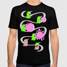 Bubol bubble gum Mens Fitted Tee LARGE Black