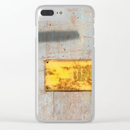 Abandoned VII Clear iPhone Case