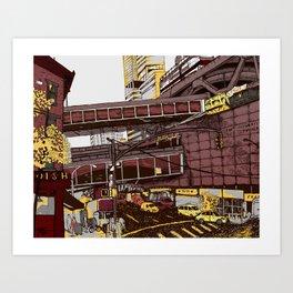Hell's Kitchen, NYC  Art Print