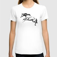 horse T-shirts featuring Horse by Anna Shell