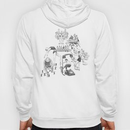 Ink Thoughts Five Hoody
