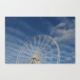 End of the Ferris Wheel Canvas Print