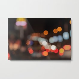 Urban Lights Metal Print