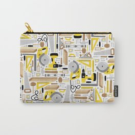 Measure Twice, Cut Once Carry-All Pouch