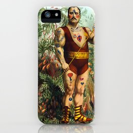 the strongest man of the world iPhone Case