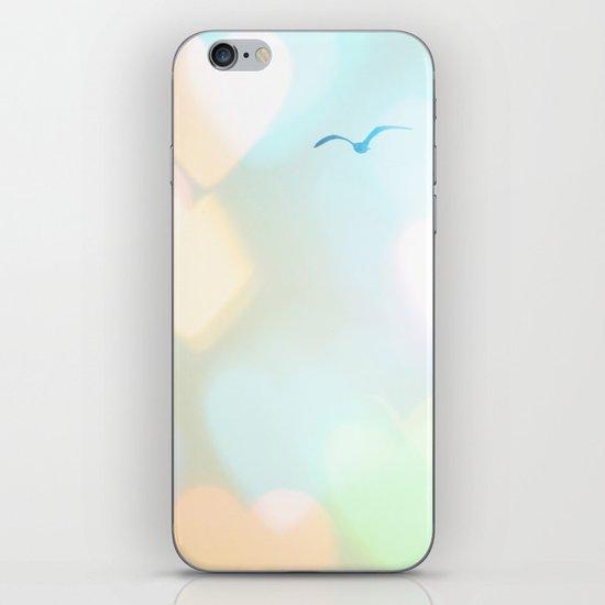 Sky Of Hearts iPhone & iPod Skin