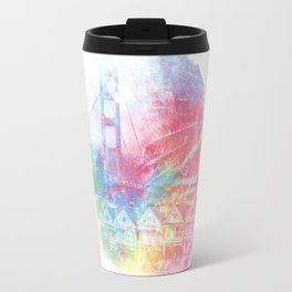 Double Rainbow Travel Mug