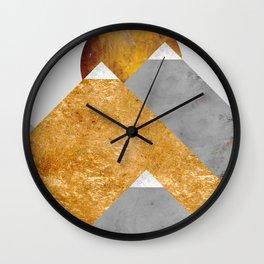 Modern Mountain No6-P2 Wall Clock
