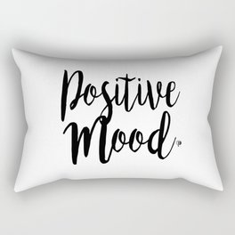 Positive Mood Lettering-PM coll Rectangular Pillow