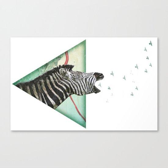 roaring silence Canvas Print