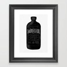 WORKAHOL Framed Art Print
