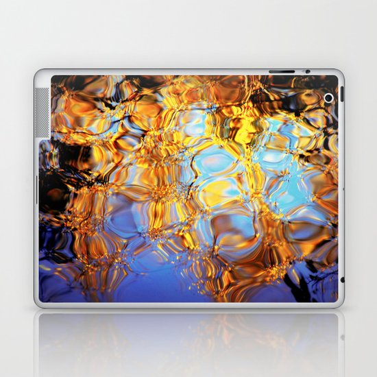 golden reflection Laptop & iPad Skin