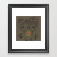 Love & Live Framed Art Print