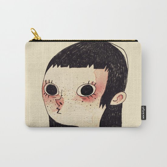 Red Girl Carry-All Pouch