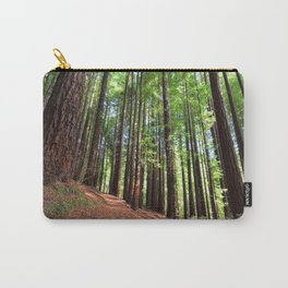 Sequoias in Cabezon de la Sal, Spain. Carry-All Pouch