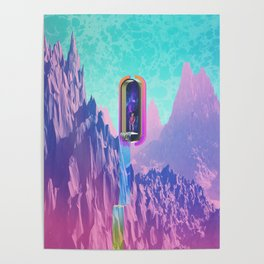 Cosmic Drain Poster