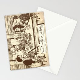 We're all cannibals here Stationery Cards