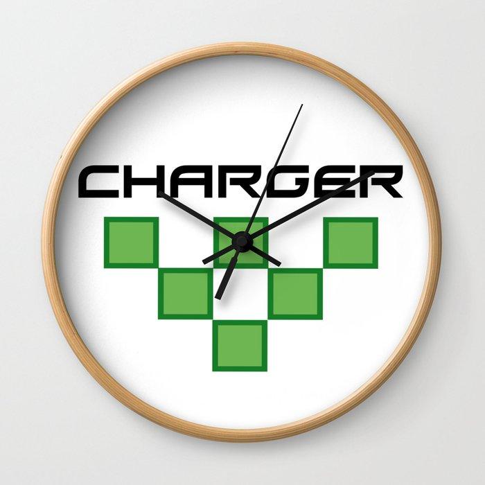 Charger Wall Clock