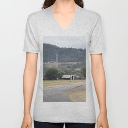 Old Country road Unisex V-Neck