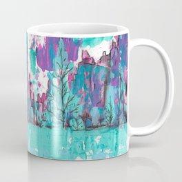 Sunset Cliffs and Waterfalls Coffee Mug
