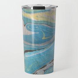 Sumingashi in Blue Travel Mug