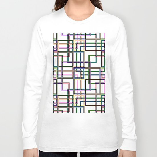 Abstract geometric pattern. Long Sleeve T-shirt