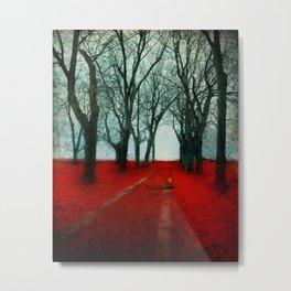 The Crimson Forest Metal Print
