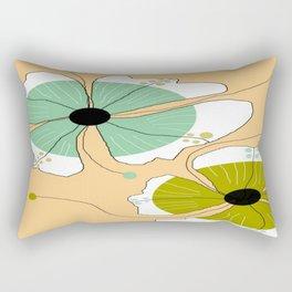 FLOWERY CLARA / ORIGINAL DANISH DESIGN bykazandholly Rectangular Pillow