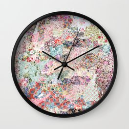 Birmingham map Wall Clock