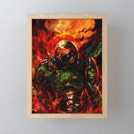 doom Framed Mini Art Print