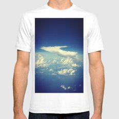 Cloud SMALL White Mens Fitted Tee