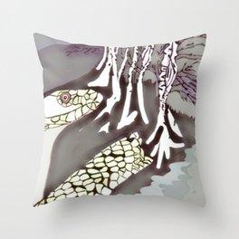 Serpent Seeds The Forest  Throw Pillow