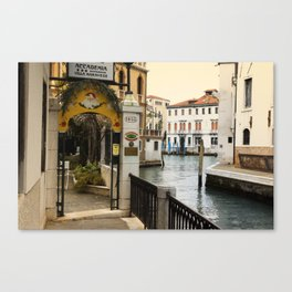 A view of Venice Canvas Print
