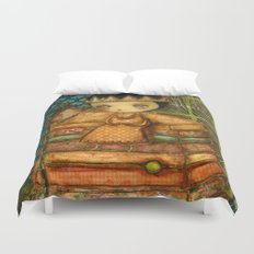 Sleepless Nights With The Princess And The Pea Duvet Cover