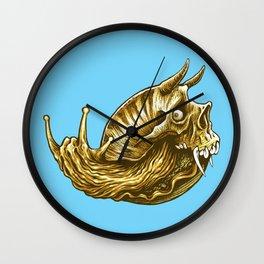 rock & snail  Wall Clock