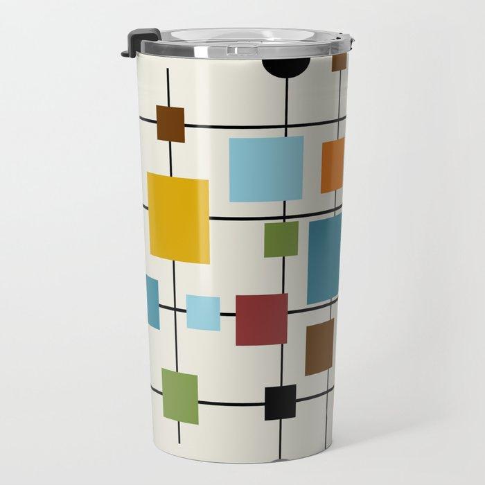 Mid-Century Modern Art 1.3 Travel Mug